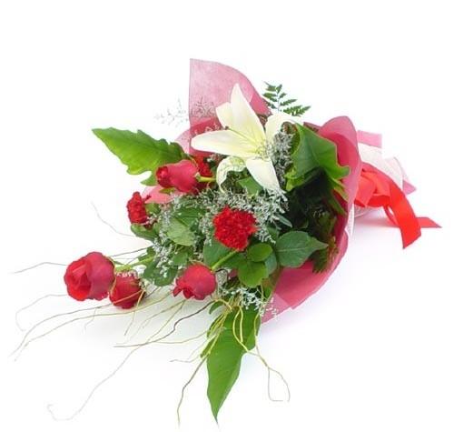 Mevsim çiçeklerinden karisik buket  Kırklareli çiçek gönderme