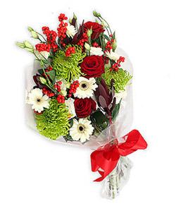 Karisik mevsim buketi çiçek tanzimi  Kırklareli İnternetten çiçek siparişi