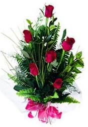 Kırklareli internetten çiçek siparişi  5 adet kirmizi gül buketi hediye ürünü