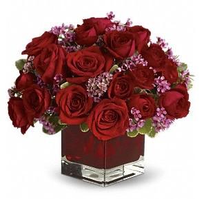11 adet kırmızı gül vazosu  Kırklareli çiçek yolla , çiçek gönder , çiçekçi