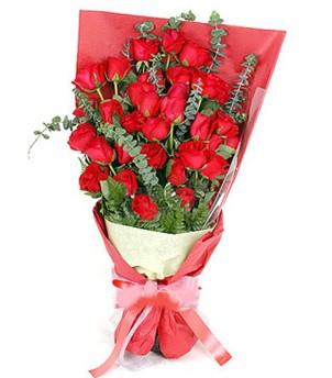 Kırklareli anneler günü çiçek yolla  37 adet kırmızı güllerden buket