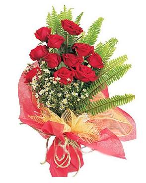 Kırklareli cicekciler , cicek siparisi  11 adet kırmızı güllerden buket modeli