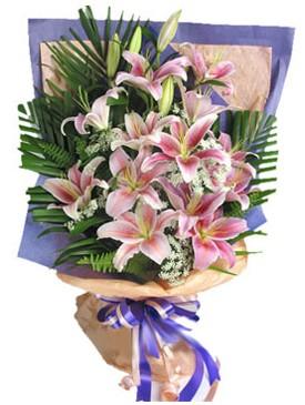 7 dal kazablankadan görsel buket  Kırklareli çiçekçiler