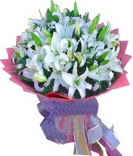 7 dal cazablanca görsel buketi  Kırklareli güvenli kaliteli hızlı çiçek