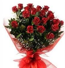 İlginç Hediye 21 Adet kırmızı gül  Kırklareli İnternetten çiçek siparişi
