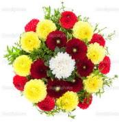 Kırklareli güvenli kaliteli hızlı çiçek  13 adet mevsim çiçeğinden görsel buket