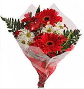 Mevsim çiçeklerinden görsel buket  Kırklareli çiçek yolla , çiçek gönder , çiçekçi