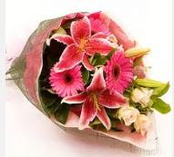 1 dal kazablanka ve mevsim çiçekleri  Kırklareli İnternetten çiçek siparişi