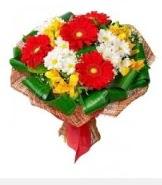 1 demet karışık buket  Kırklareli hediye çiçek yolla
