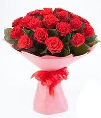 15 adet kırmızı gülden buket tanzimi  Kırklareli yurtiçi ve yurtdışı çiçek siparişi