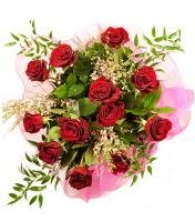 12 adet kırmızı gül buketi  Kırklareli çiçek , çiçekçi , çiçekçilik