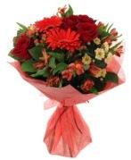 karışık mevsim buketi  Kırklareli İnternetten çiçek siparişi