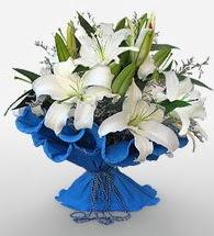 4 dal kazablanka çiçeğinden buket  Kırklareli çiçek gönderme