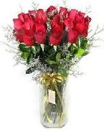 27 adet vazo içerisinde kırmızı gül  Kırklareli cicekciler , cicek siparisi