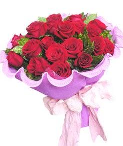 12 adet kırmızı gülden görsel buket  Kırklareli güvenli kaliteli hızlı çiçek