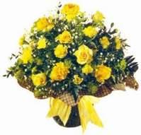 Kırklareli çiçek servisi , çiçekçi adresleri  Sari gül karanfil ve kir çiçekleri