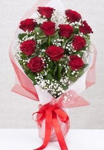 11 kırmızı gülden buket çiçeği  Kırklareli çiçek , çiçekçi , çiçekçilik