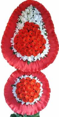 Kırklareli çiçek yolla  Çift katlı kaliteli düğün açılış sepeti