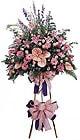 Kırklareli internetten çiçek siparişi   Ferforje Pembe kazablanka