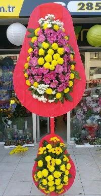 Çift katlı düğün nikah açılış çiçek modeli  Kırklareli çiçek yolla