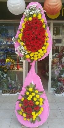 Çift katlı düğün nikah açılış çiçek modeli  Kırklareli çiçek yolla , çiçek gönder , çiçekçi