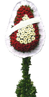 Çift katlı düğün nikah açılış çiçek modeli  Kırklareli cicekciler , cicek siparisi