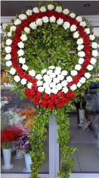 Cenaze çelenk çiçeği modeli  Kırklareli ucuz çiçek gönder