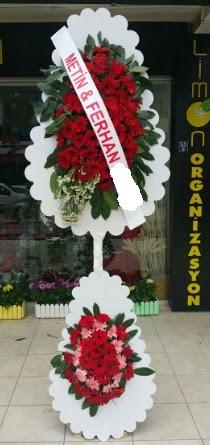 Çift katlı düğün nikah çiçeği modeli  Kırklareli yurtiçi ve yurtdışı çiçek siparişi