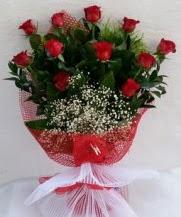 11 adet kırmızı gülden görsel çiçek  Kırklareli çiçek online çiçek siparişi