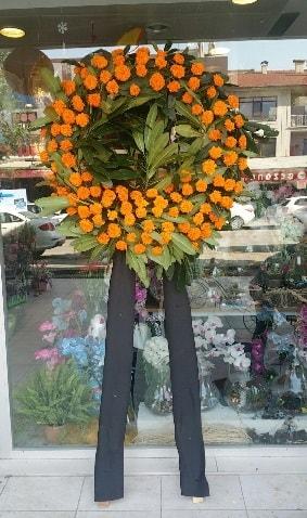 Cenaze çiçeği cenaze çelengi çiçek modeli  Kırklareli anneler günü çiçek yolla