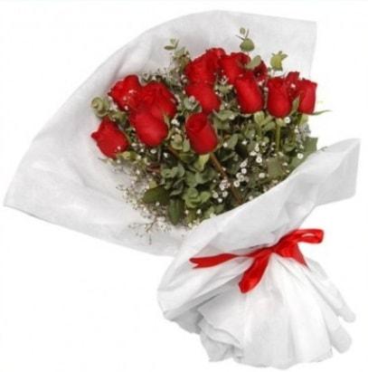 9 adet kırmızı gül buketi  Kırklareli güvenli kaliteli hızlı çiçek