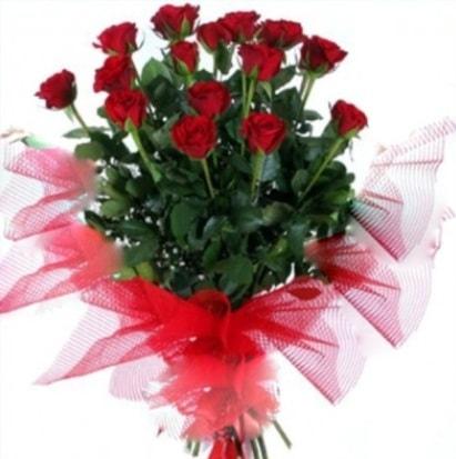 15 adet kırmızı gül buketi  Kırklareli çiçek gönderme