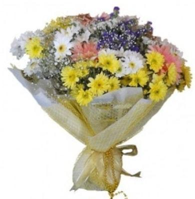 Karışık mevsim çiçeği  Kırklareli çiçek online çiçek siparişi