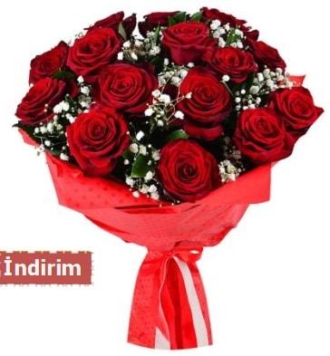 12 Adet kırmızı aşk gülleri  Kırklareli çiçek online çiçek siparişi