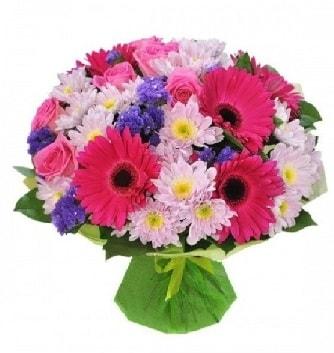 Karışık mevsim buketi mevsimsel buket  Kırklareli çiçek online çiçek siparişi