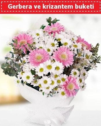 Papatya ve Gerbera Buketi  Kırklareli çiçek servisi , çiçekçi adresleri